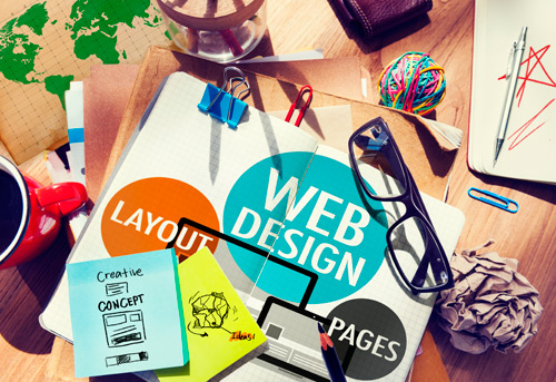 image of web design concept