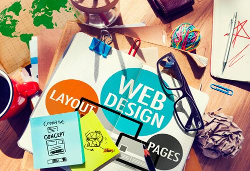 image of web design concept