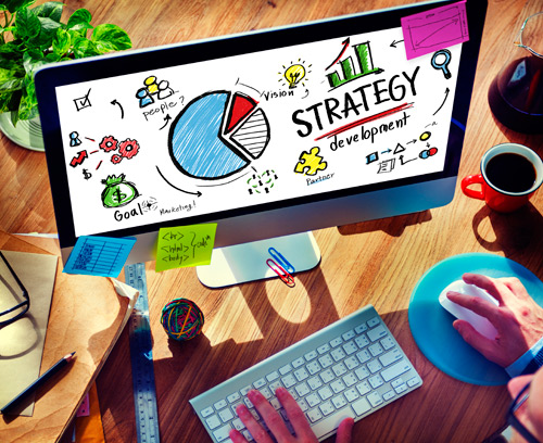 image of web design strategy