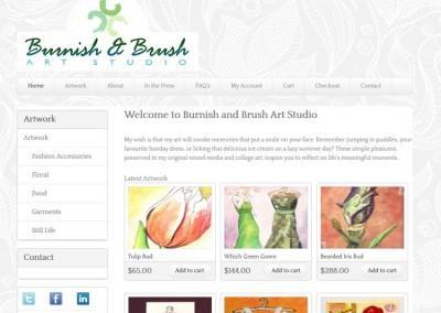 Burnish & Brush