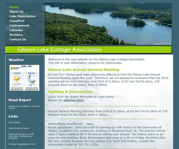 Gibson Lake Cottage Association