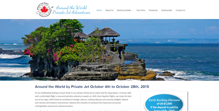 Around the World by Private Jet