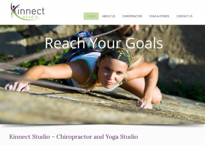 Kinnect Studio Website Design