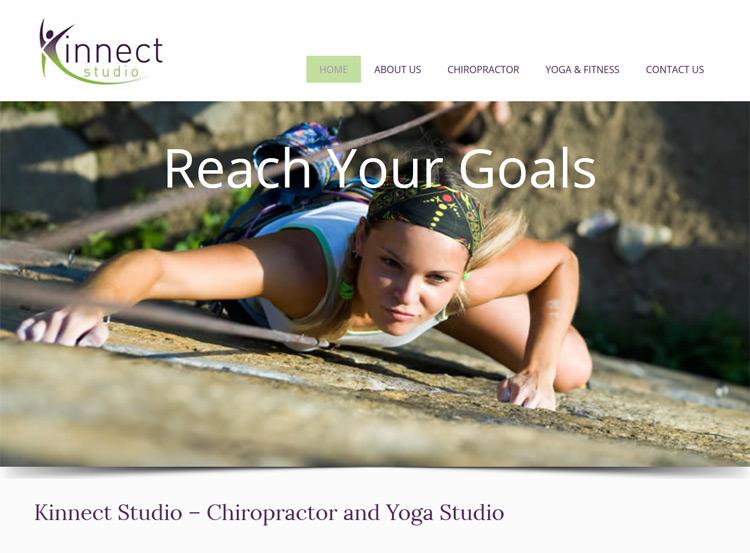 Kinnect Studio Website Design